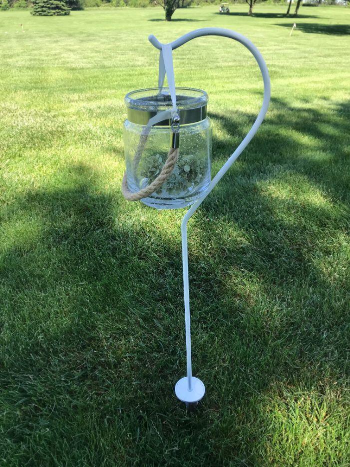 Crackle Glass Lanterns
